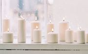 White candles window light home spiritual zen small muymuyfeliz